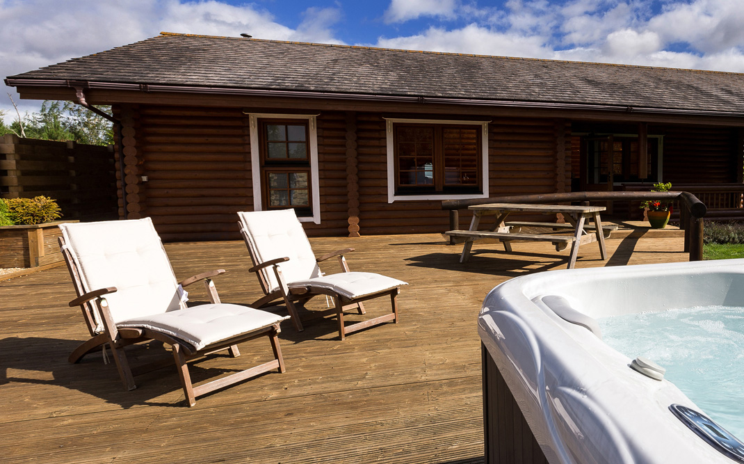 Bunnahabhain Cabin Hot tub